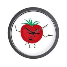 Tomate Solo Wall Clock