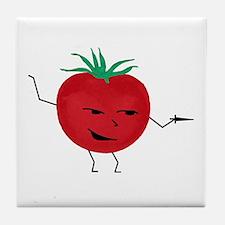 Tomate Solo Tile Coaster