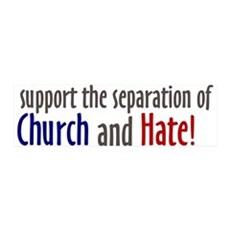 36x11 Wall Peel - Separation of Church and Hate