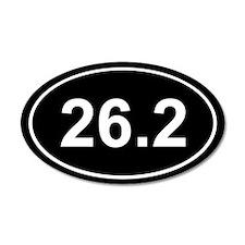 26.2 Marathon 20x12 Oval Wall Peel
