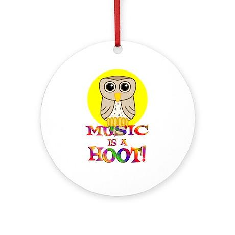 Music Ornament (Round)