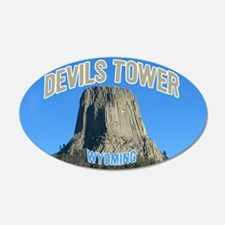 Devils Tower National Monument 20x12 Oval Wall Pee
