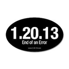 End of an Error Reversed Sticker