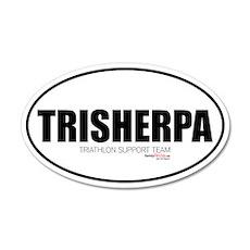 TriSherpa 20x12 Oval Wall Peel