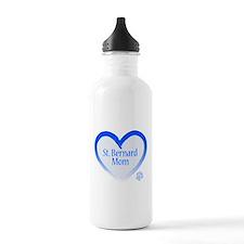 Unique Saint bernard mom Water Bottle