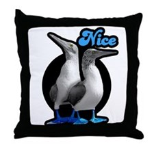 Nice Boobies Throw Pillow
