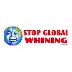 Stop Global Whining - Warming 36x11 Wall Peel