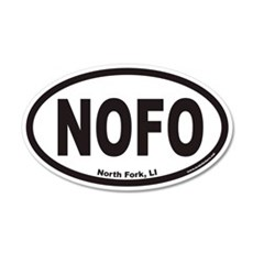 North Fork Long Island NOFO Euro 20x12 Oval Wall P