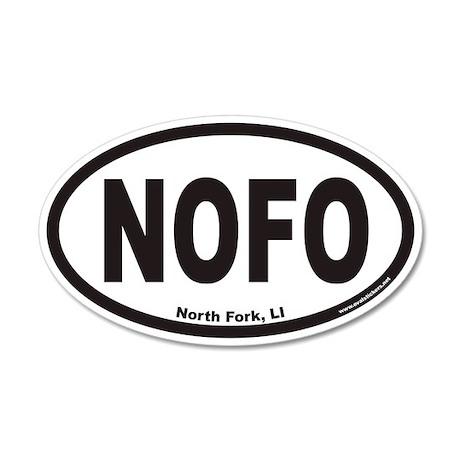 North Fork Long Island NOFO Euro 35x21 Oval Wall P