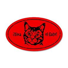 Viva el Gato! Cat Revolution Sticker