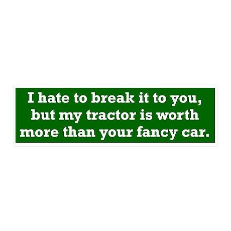 My tractor's worth... 20x6 Wall Peel