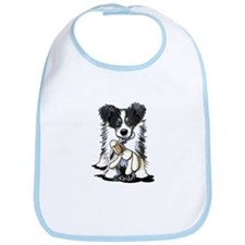 Tri-Color Border Collie Bib