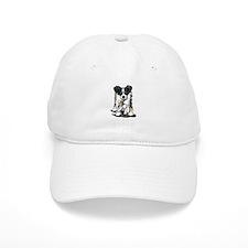 Tri-Color Border Collie Baseball Cap