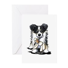 Tri-Color Border Collie Greeting Cards (Pk of 20)