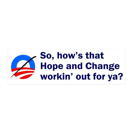 Anti-Obama 20x6 Wall Peel