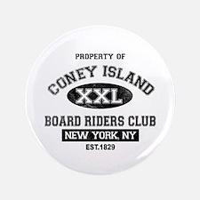 """Coney Island Board Riders 3.5"""" Button"""