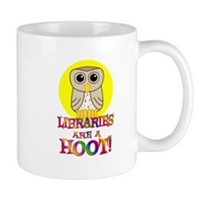 Libraries Small Mug