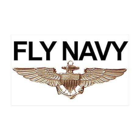 FLY NAVY 35x21 Wall Peel