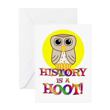 History Greeting Card