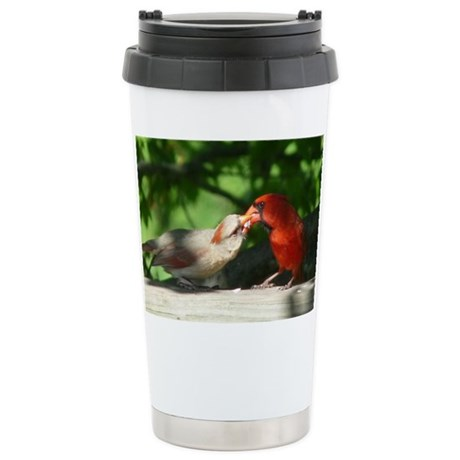 Cardinal Stainless Steel Travel Mug