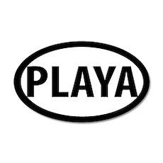 Playa 20x12 Oval Wall Peel