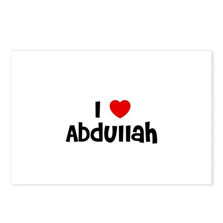 I * Abdullah Postcards (Package of 8)