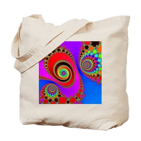 Spiral With Hook Rugs Tote Bag