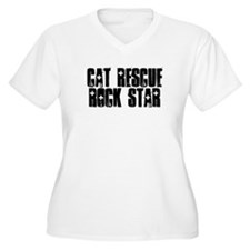Cat Rescue Rock Star T-Shirt