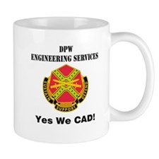 DPW Engineering Services Small Mug