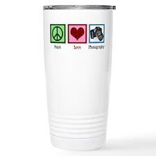 Peace Love Photography Travel Coffee Mug