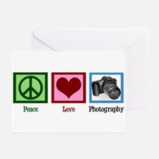 Peace Love Photography Greeting Cards (Pk of 20)