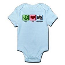 Peace Love Photography Infant Bodysuit