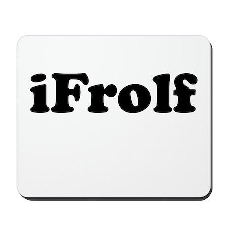 iFrolf 300 top Mousepad
