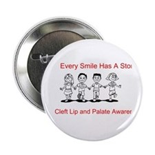 "Cute Lip 2.25"" Button"