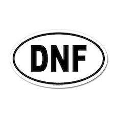 DNF 20x12 Oval Wall Peel