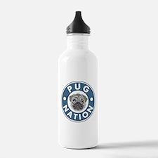 Pug Nation Water Bottle