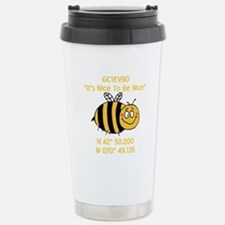 Bee Geocache Travel Mug