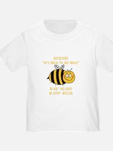 Bee Geocache T