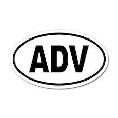ADV 20x12 Oval Wall Peel