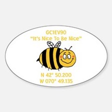 Bee Geocache Decal
