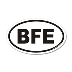 BFE Euro 20x12 Oval Wall Peel