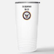 USS BROWNSON Travel Mug