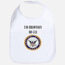 USS BROWNSON Bib