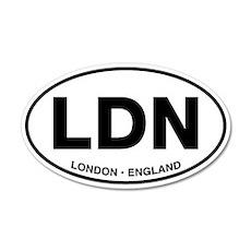 London 20x12 Oval Wall Peel