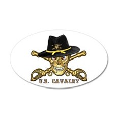 Forever Cavalry 20x12 Oval Wall Peel