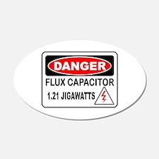 Danger FC 20x12 Oval Wall Peel