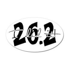 26.2 - I Did It! 20x12 Oval Wall Peel