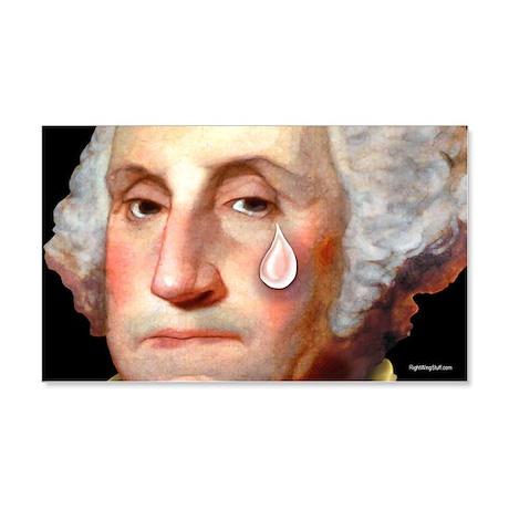 Washington - Tear 20x12 Wall Peel