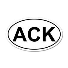 ACK 20x12 Oval Wall Peel