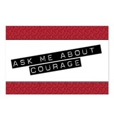 Ask Me About Courage Postcards (Package of 8)